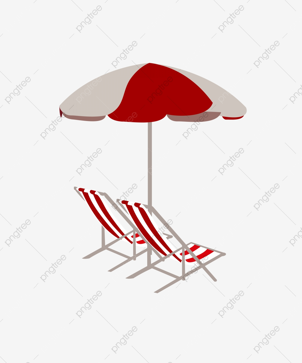 Red Recliner Cartoon Chair Lounge Chair Red Chair Png