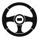Car Steering Wheel Icon Simple Style Car Icons Style Icons Simple Icons Png And Vector With Transparent Background For Free Download