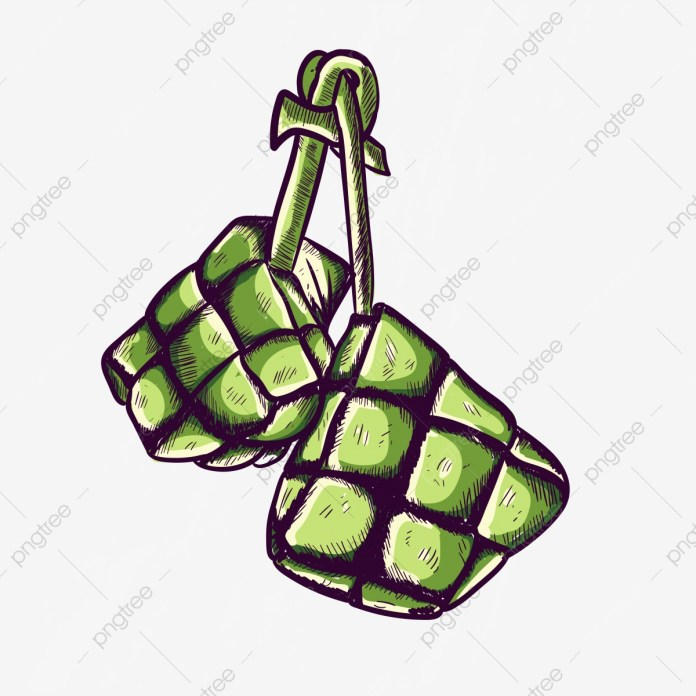 Hand Drawn Sketch Illustration Of Ketupat Which Is A Traditional Indonesian Food For Eid Celebration Ketupat Illustration Hand Drawn Png And Vector With Transparent Background For Free Download