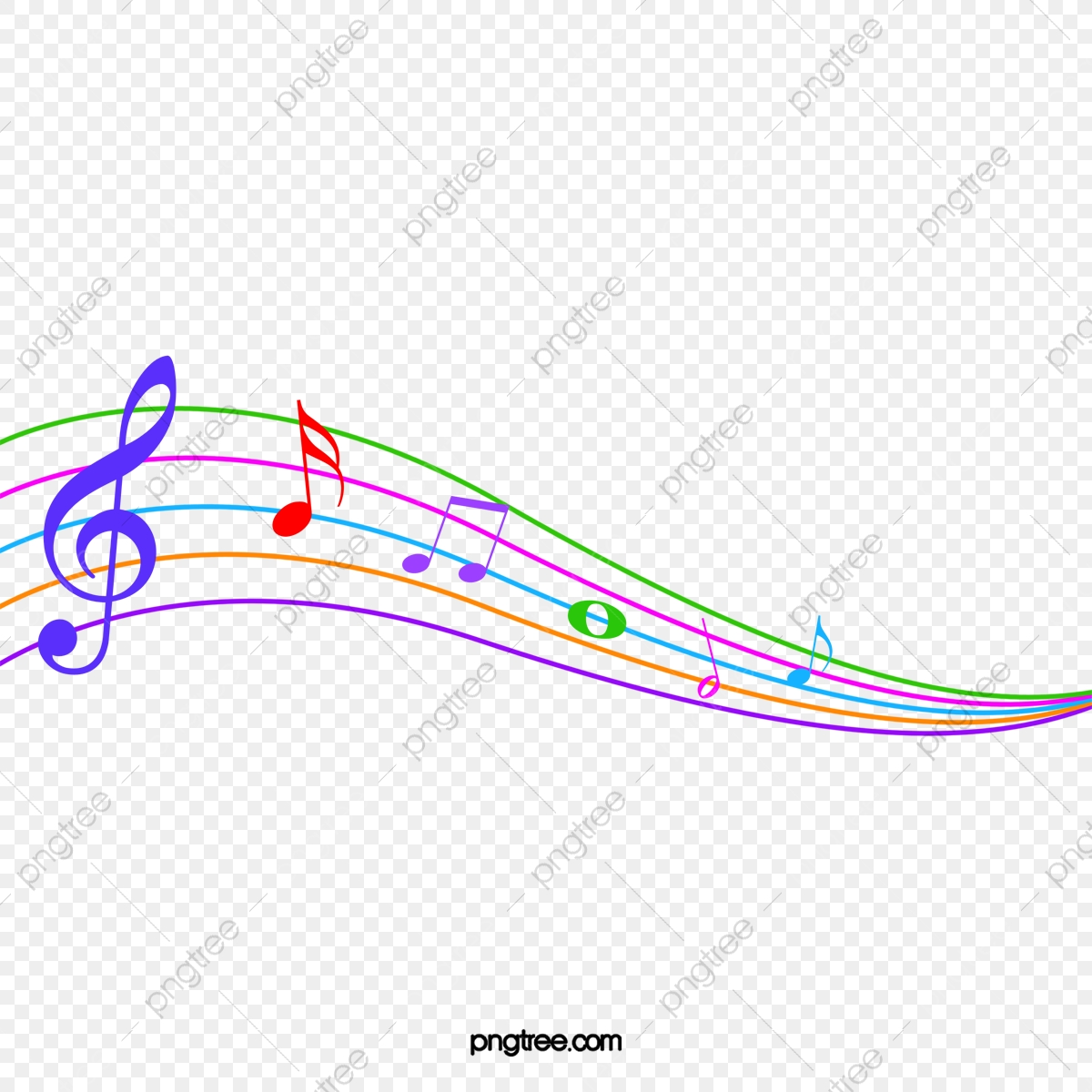 https fr pngtree com freepng colored cartoon musical note stave 2559075 html