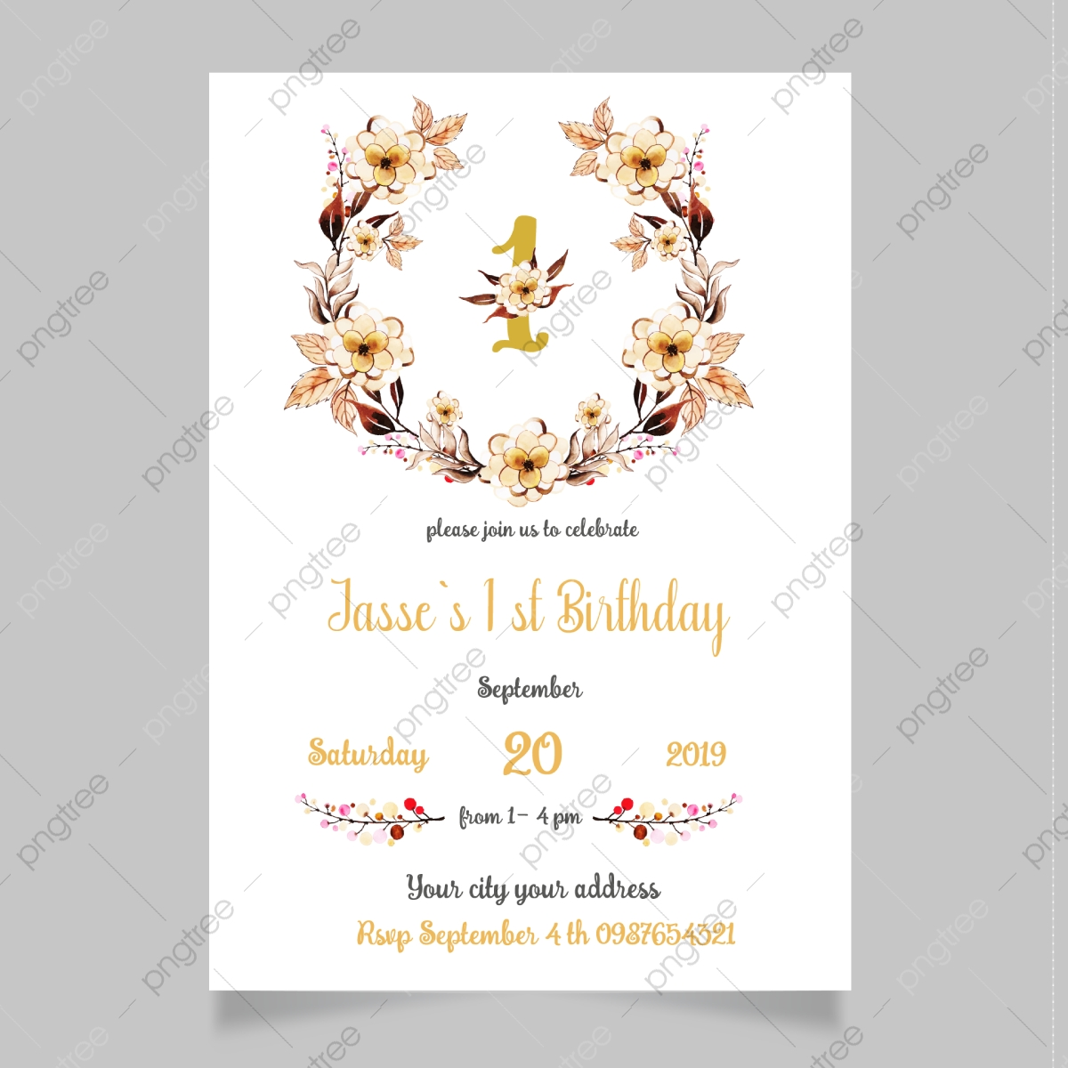 https pngtree com freepng 1st birthday invitation templates 4774214 html