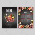 Menu Design Png Images Vector And Psd Files Free Download On Pngtree