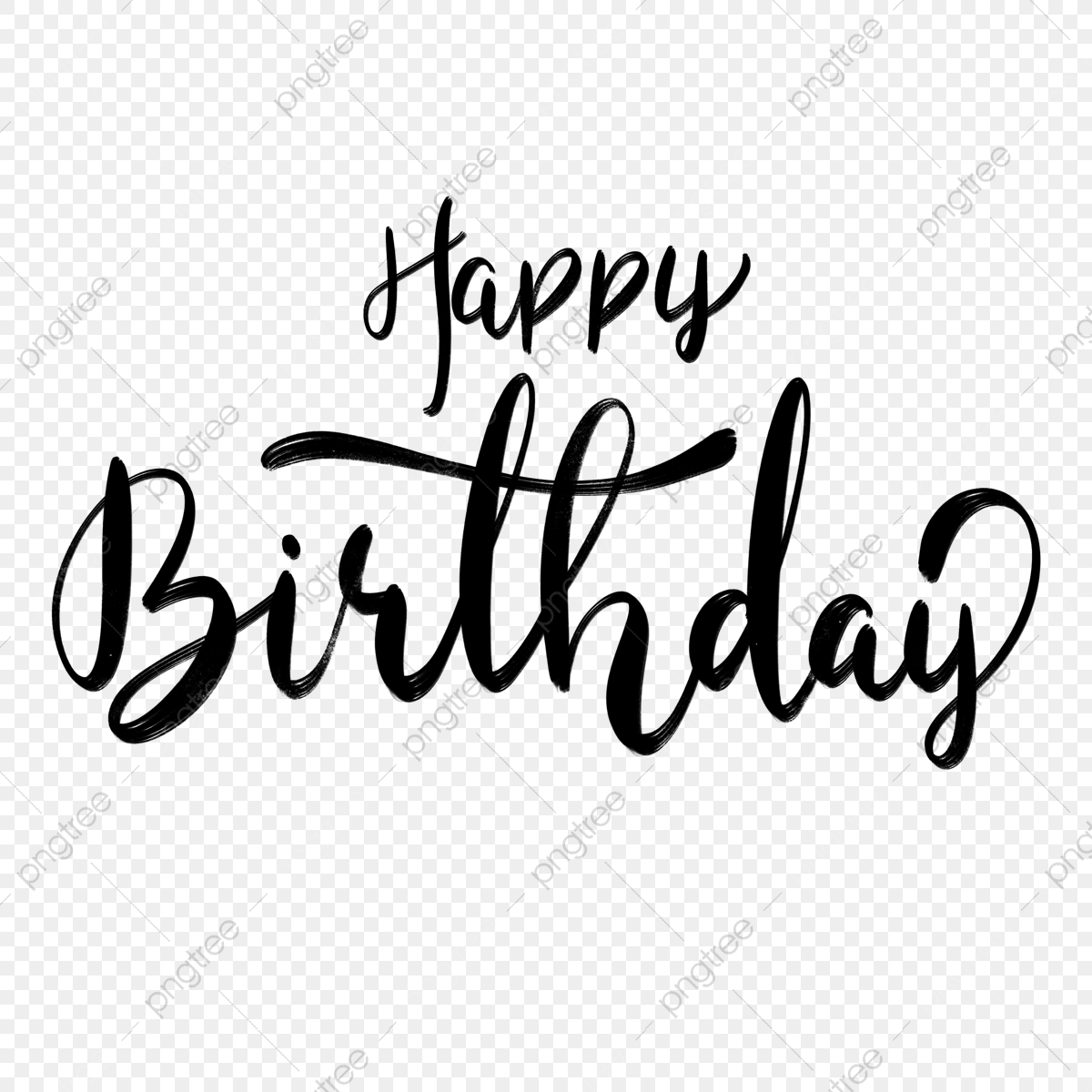 Birthday Font Png Images Vector And Psd Files Free Download On Pngtree