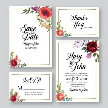 carte invitation mariage png images