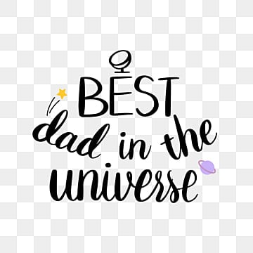 Download Best Dad Png, Vector, PSD, and Clipart With Transparent ...