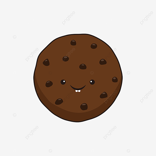 Funny Cute Emoticon Chocolate Chip Cookie Cookie Clipart Clip Art Cookies Cartoon Cookies Png And Vector With Transparent Background For Free Download