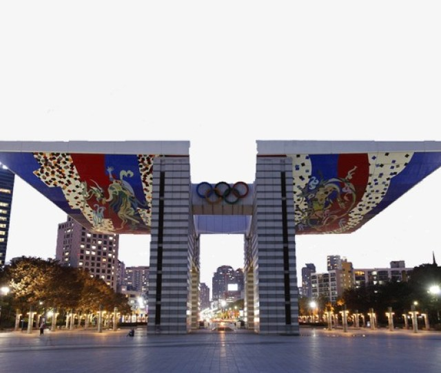 Seoul Olympic Park Attractions Famous Scenery Tourist Attractions Seoul Olympic Park Png Image