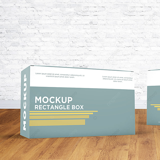 Download Rectangle Box Mockup Template for Free Download on Pngtree