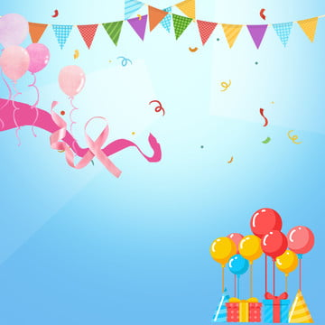 https pngtree com freebackground ribbon triangle flag balloon decoration birthday invitation card background 1105870 html