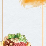 Food Restaurant Hand Drawn Psd Layered Poster Background Illustration Food Restaurant Hand Drawn Background Image For Free Download