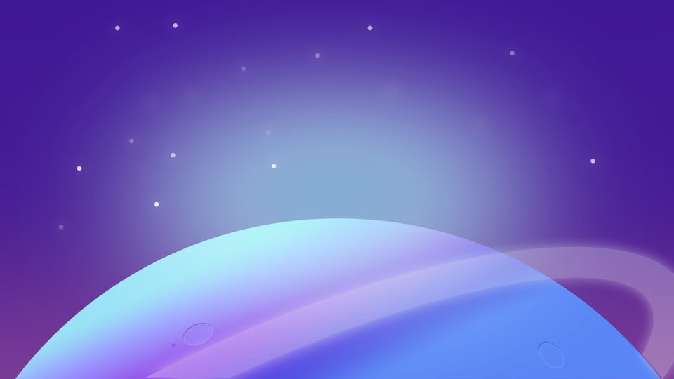 Space Background Banner Deep Blue Outer Background