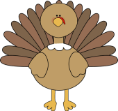 Image result for cute turkey clipart