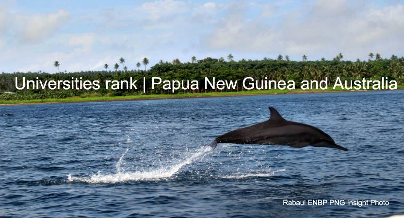 Top Universities in Australia and Papua New Guinea