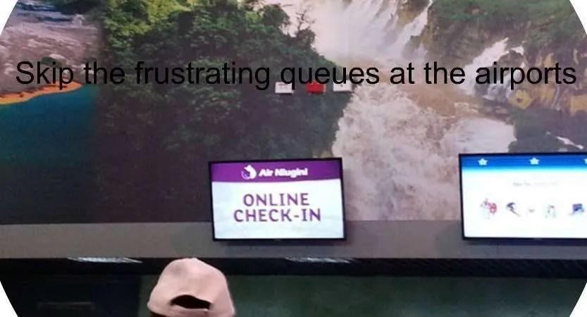 Air Niugini Online Check-in Fast