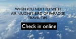 Air Niugini Online Check-in Fast