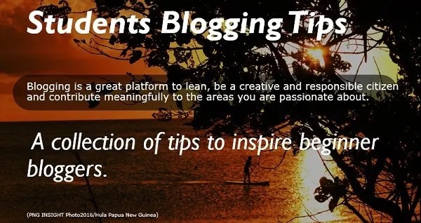 How to Start a Personal Blog Student's Tips
