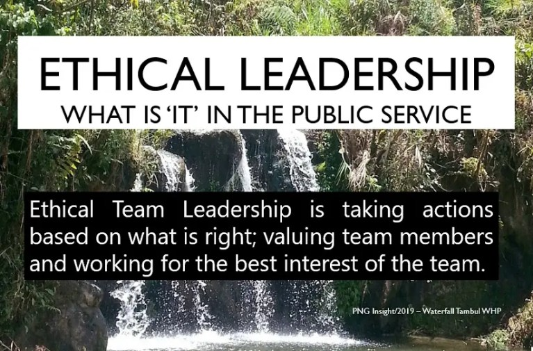 Ethical Leadership Dynamic Teams Key for Education Development