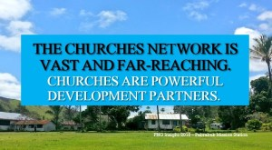 Churches in PNG Key Partners in Services Delivery