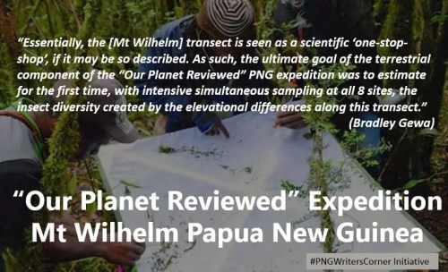 Our planet reviewed PNG
