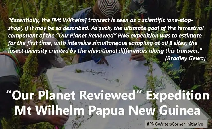 Our Planet Reviewed: International Scientific Expedition Papua New Guinea