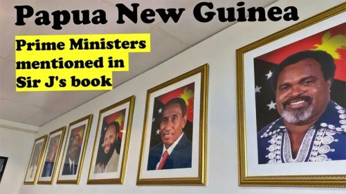 PNG Prime Ministers