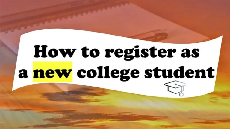 College Admission Documents and Registration Steps
