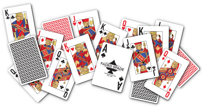 Faded Spade: The New Face of Cards? 101