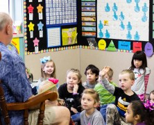 Community Reads Day at South Bosque Elementary