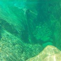 Dentro dos Poços Do Parque Nacional - Escorrega da Touça