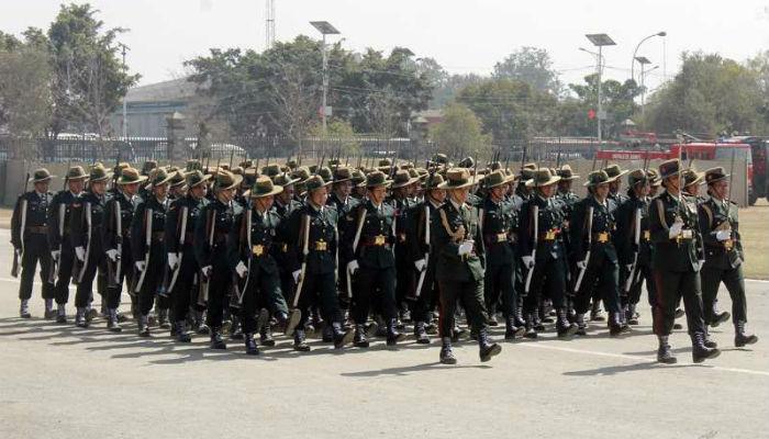 अन्तर्राष्ट्रिय प्रतियोगितामा नेपाली सेना तेस्रो
