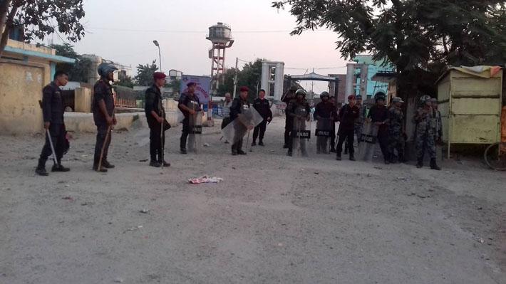 कृष्णनगरमा कफ्र्यु जारी, कडा सुरक्षाका साथ मूर्ति विसर्जन