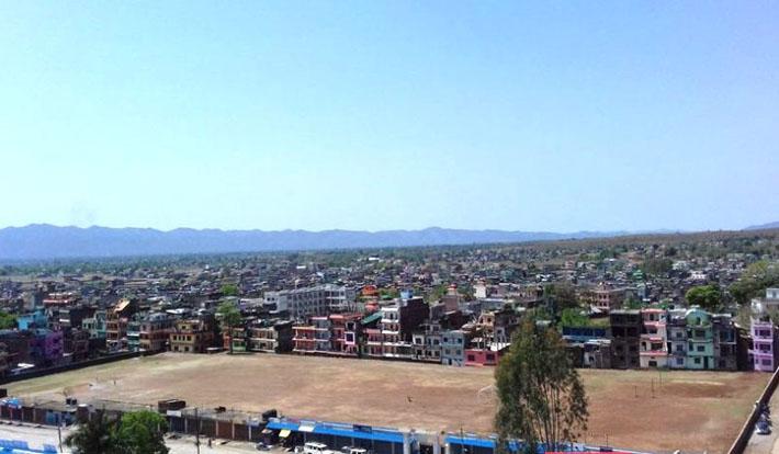 तुलसीपुरमा व्यापारिक स्तम्भ बन्ने
