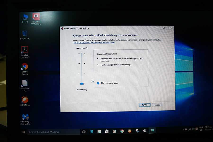 How To Turn Off User Account Control Windows 10 (UAC