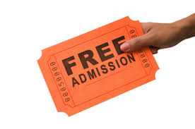 Free Admit Ticket