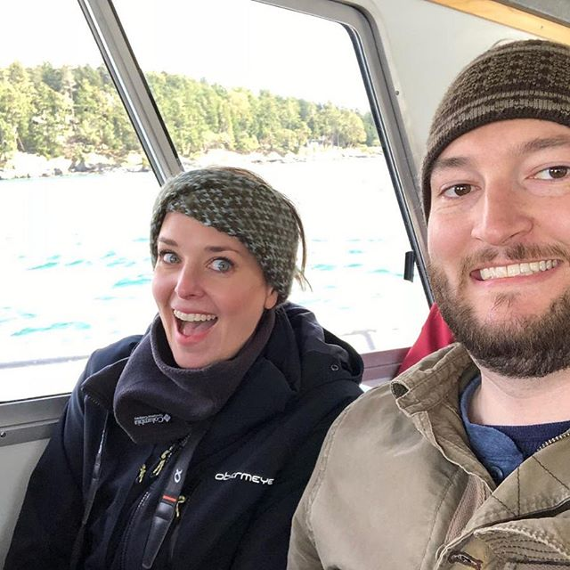 Whale Watching out of Orcas Island