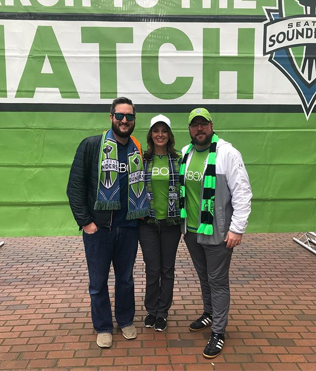 Sounders is a Seattle experience