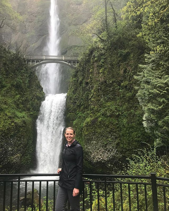 The beauty of Multnomah Falls