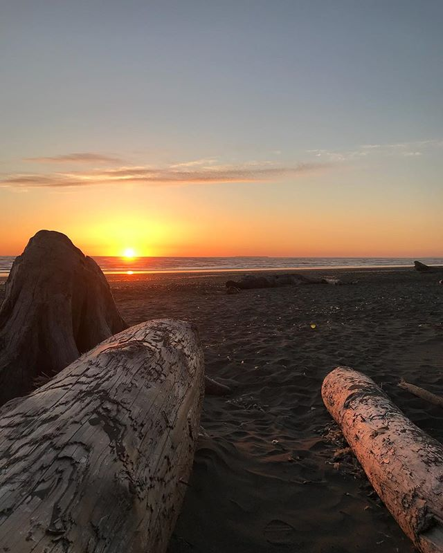 Kalaloch Beach at Sunset