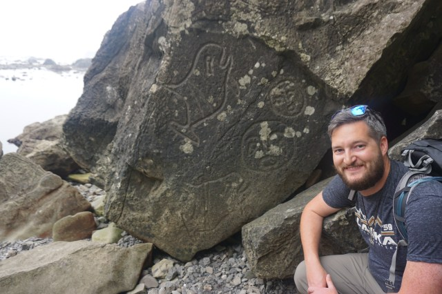 The most photographed petroglyph along the trail