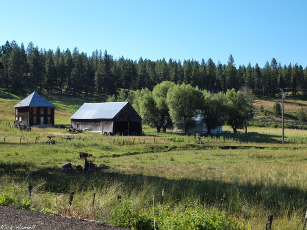 Ghost town of Austin, Oregon