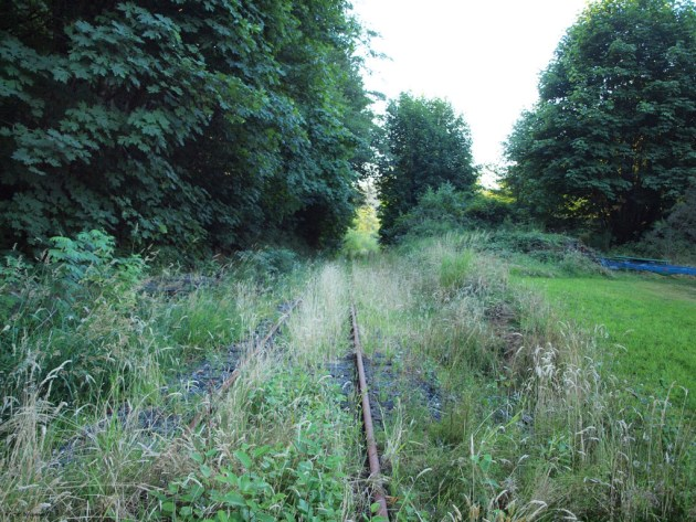 Old Lewis and Clark Explorer railroad in Clifton