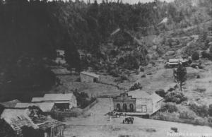 Ghost town of Waldo Oregon