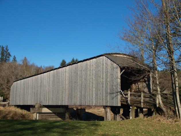 Gray's River Covered Bridge