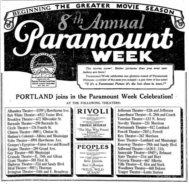 8th Annual Paramount Week