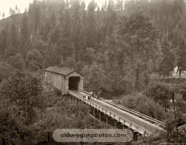 Old Oregon Photos Baker's Bridge