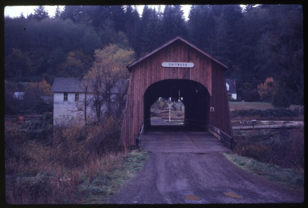 Chitwood Covered  Bridge by Ben Maxwell