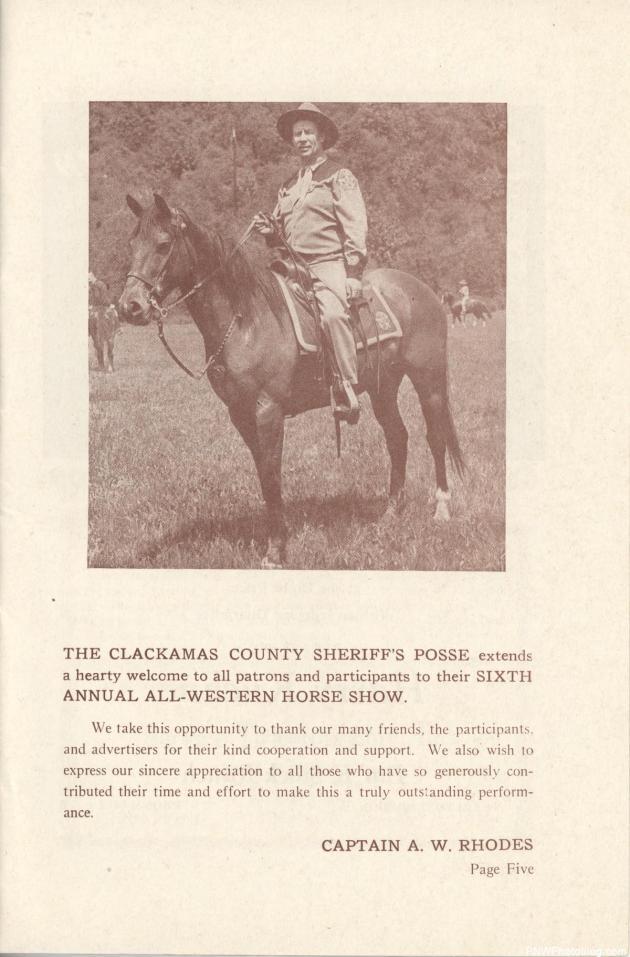Sheriff's Posse