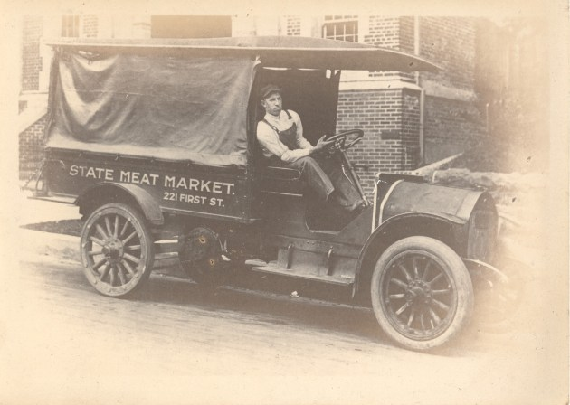 State Meat Market Delivery Truck