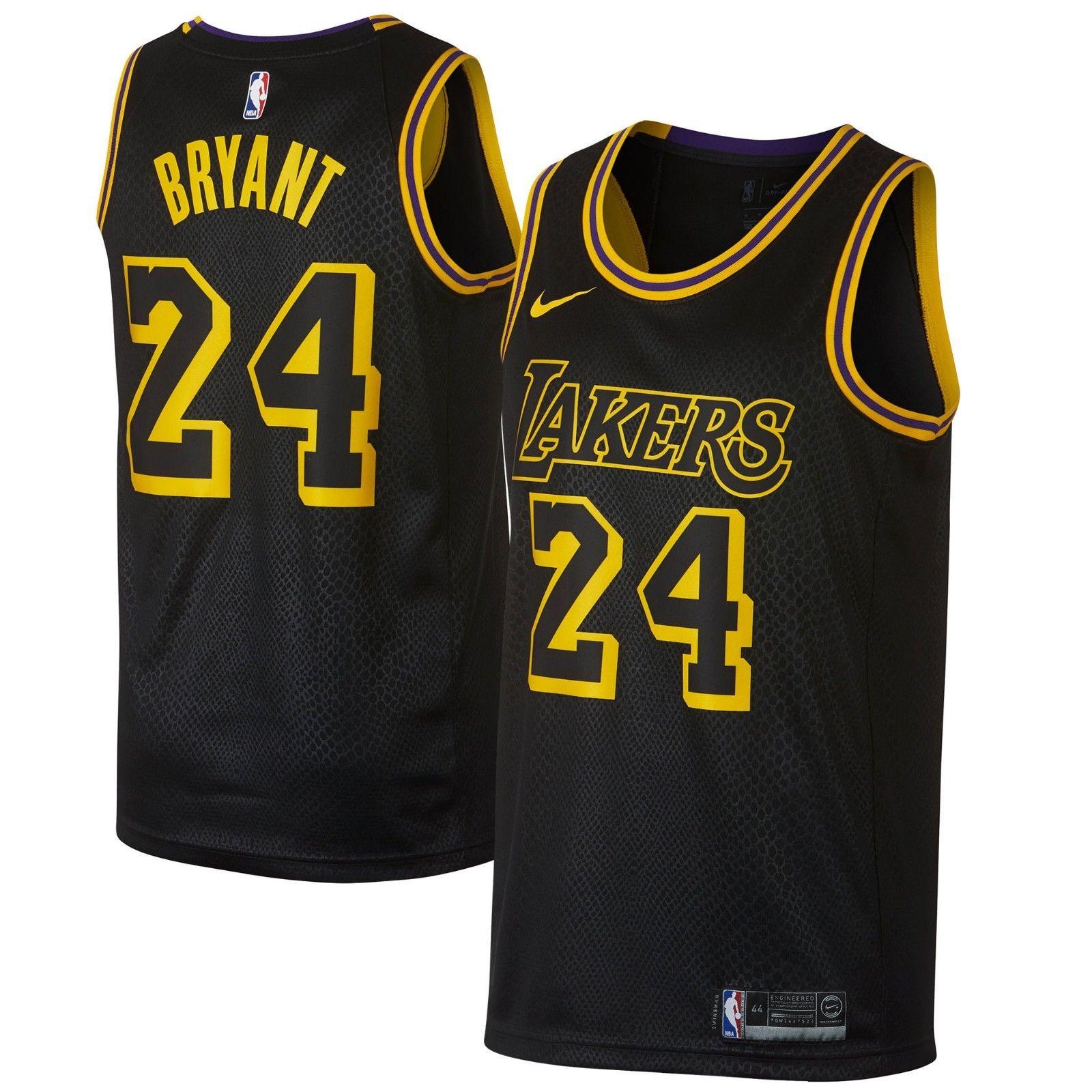 promo code 9477f f7a14 Nike NBA Los Angeles Lakers Kobe Bryant #24 Swingman City Edition Men's  Jersey - PNW Sports Apparel