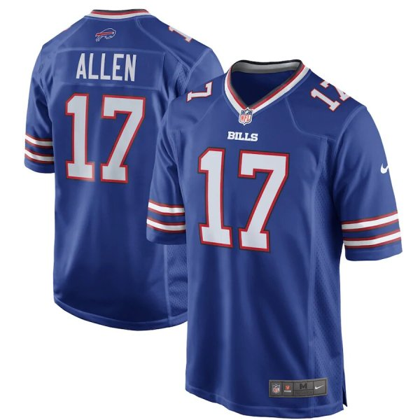 2020 NFL Nike Josh Allen Buffalo Bills Game Jersey - Royal